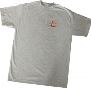unisex grey t-shirt front